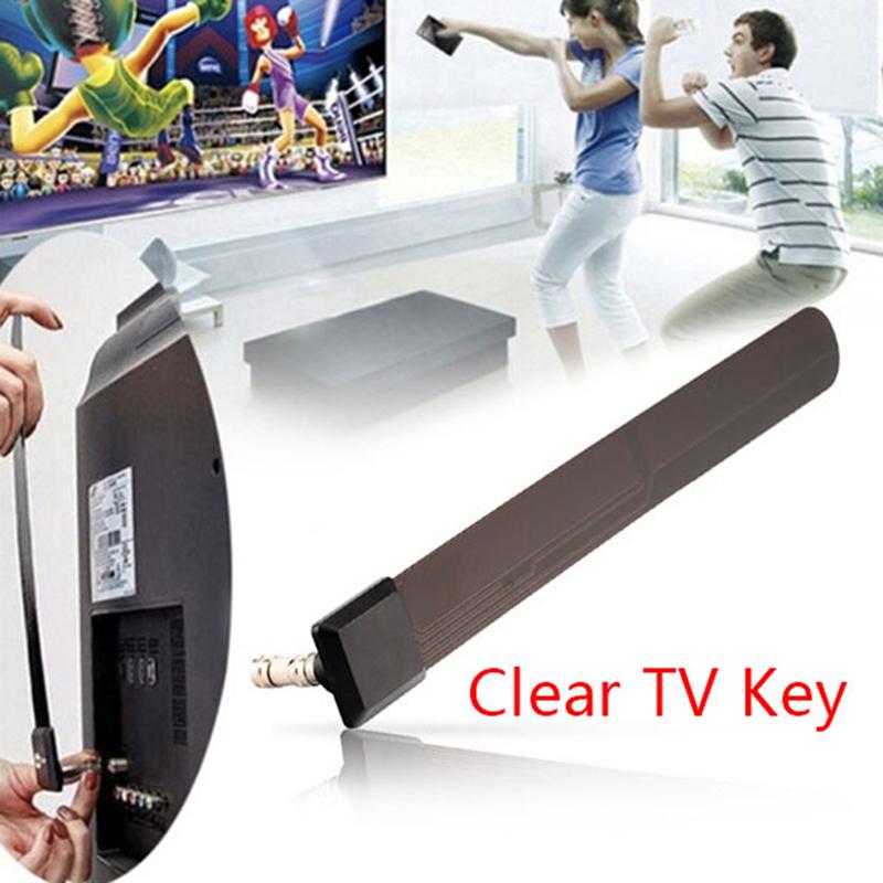 sai kim ruixinguoji 1080p clear TV key HDTV 100+ free HD TV digital indoor mini antenna ditch cable