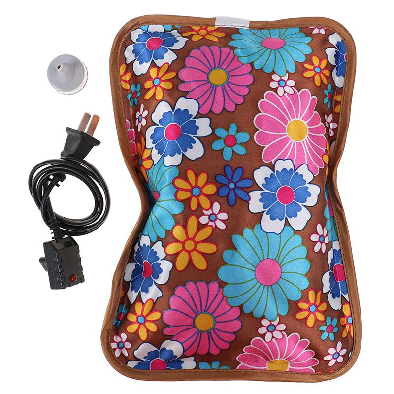 Bảng giá Qayao HONG 1PC Rechargeable Electric Hot Water Bottle Hand Warmer Heater Bag for Winter Phong Vũ