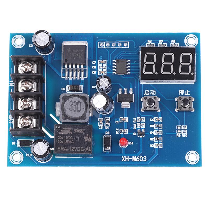 Bảng giá Manao Làm Mới XH-M603 Màn Hình Đèn LED Kỹ Thuật Số Bộ Sạc Pin Lithium Mạch Bảo Vệ Mô-đun Phong Vũ